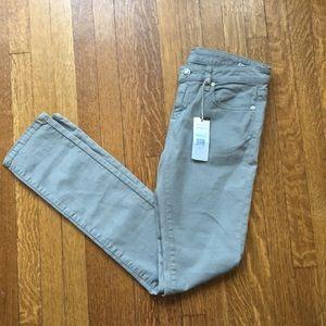 Nwt BCBGMaxAzria Grey skinny jeans leggings